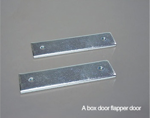 Connection Plate For Framed Glass Door